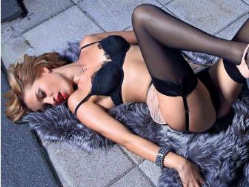 Ксения Бородина снялась для эротического календаря