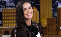 Неголливудская улыбка: Деми Мур лишилась передних зубов