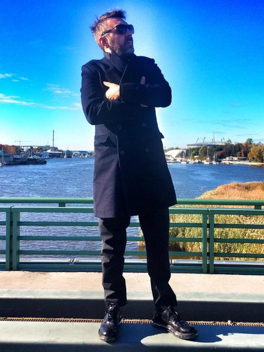 Модные тенденции осень 2015: что носят звезды фото Сергей Шнуров