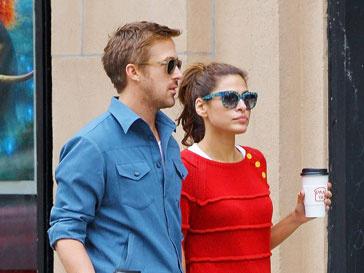 Райан Гослинг (Ryan Gosling) и Ева Мендес (Eva Mendes)
