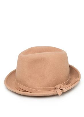 шерстяная шляпа федора