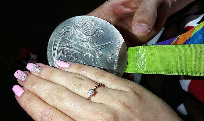 Серебряная медаль Давида Белявского, фото