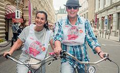 Велопробег ГУМа и Wday: фотоотчет