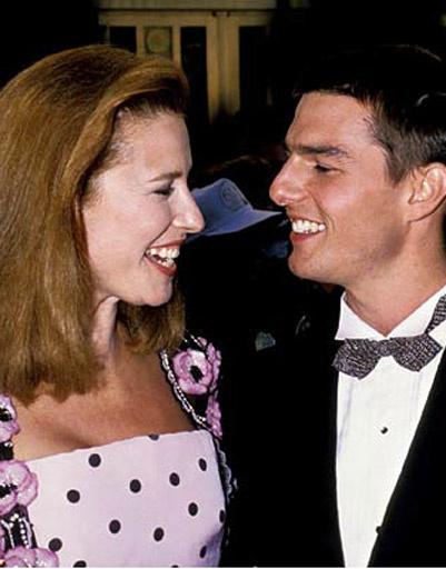 Том Круз (Tom Cruise) и Мими Роджерс (Mimi Rogers)