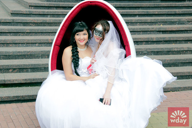 Парад невест в Челябинске