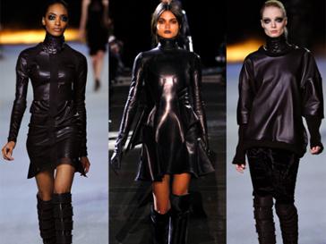 Найди десять отличий: первая и третья модели - Kanye Wes, модель по середине - Givenchy, осень-зима 2012/13