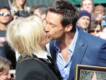 Хью Джекман (Hugh Jackman) с любимой женой
