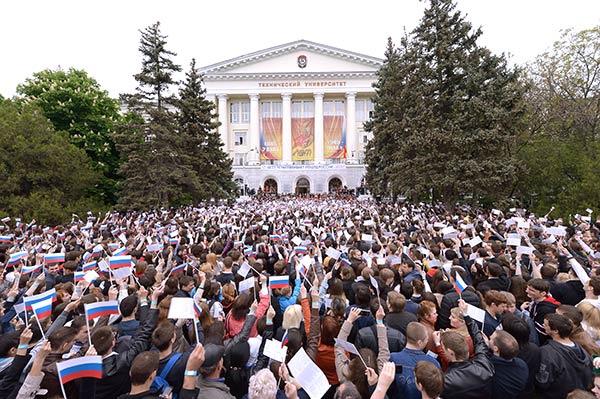Студенты и сотрудники ДГТУ исполнят песню «День Победы» в Ростове