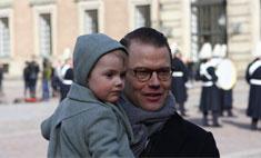 Шведская принцесса вывела дочь в свет
