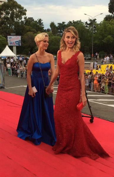 Кинотавр-2015: Катя Гордон и Екатерина Архарова фото