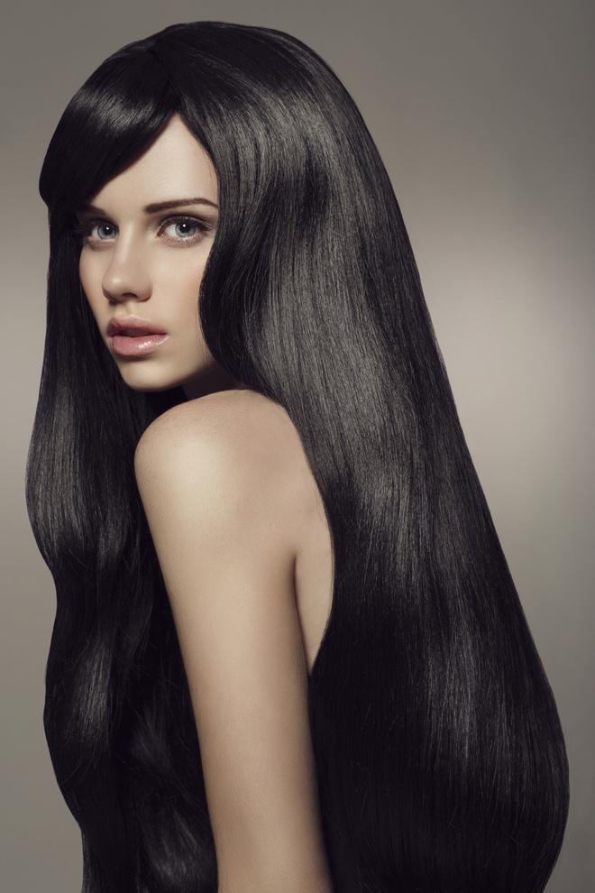 как избавиться от черных волос