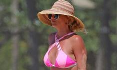Бритни сильно похудела и теперь всем показывает новое тело