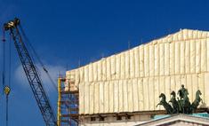 В Москве торжественно открыли главный фасад Большого театра