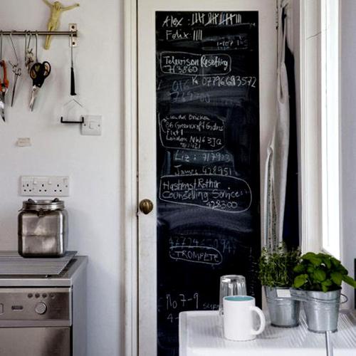 На кухне или в прихожей такая доска станет живой внутрисемейной газетой, на которой удобно писать ежедневные напоминания, поздравления, меню, похвалы или записки