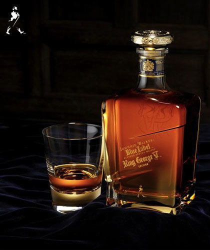Johnnie Walker Blue Label.