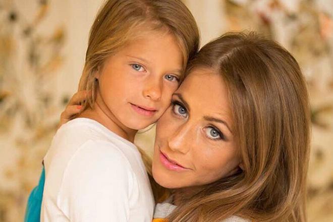 Юлия Барановская с дочкой фото