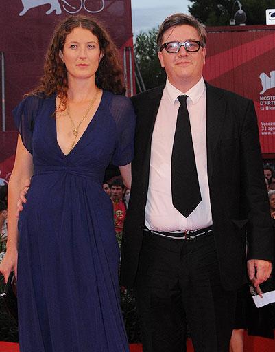 Томас Альфредсон (Tomas Alfredson) с женой