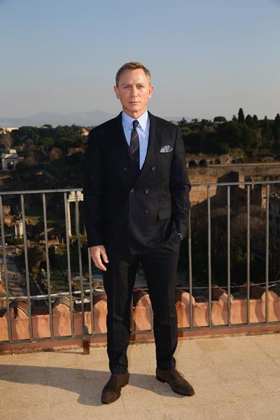 Джеймс Бонд, 007: Спектр, Беллуччи и Крэйг, фото 2015