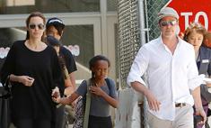 Джоли и Питт могут лишиться личного пляжа в Санта-Барбаре