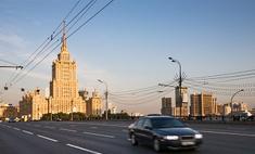 Движение в Москве ограничено в связи с Днем города