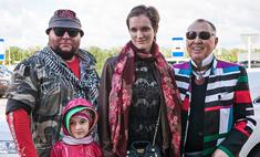 На «Губернский стиль – 2015» Вячеслав Зайцев привез сына с семьей