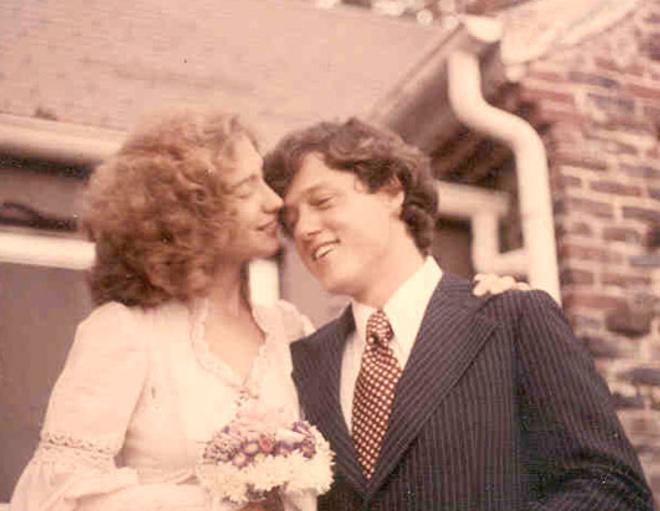 Свадьба Билла и Хиллари Клинтон