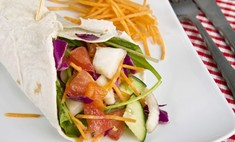 Рецепт шаурмы по-вегетариански