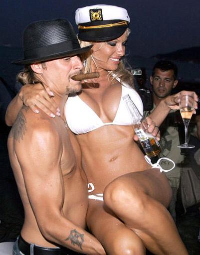 Памела Андерсон (Pamela Anderson) и Кид Рок (Kid Rock)
