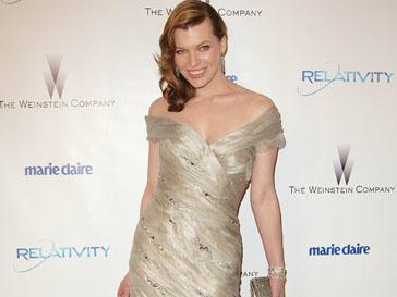 Мила Йовович (Milla Jovovich) прияняла участие в благотворительной акции