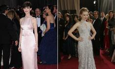 Энн Хэтэуэй вынудили надеть «голое» платье на церемонию «Оскар»
