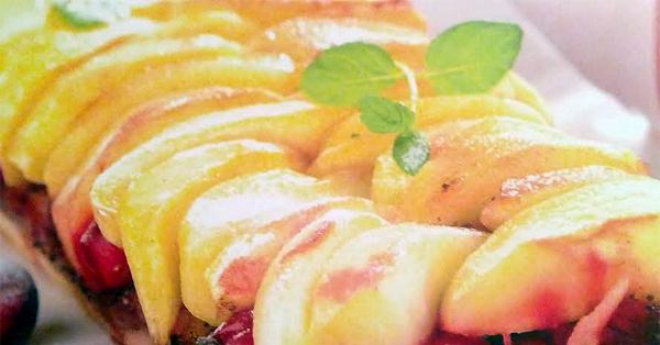 Яблочный пирог: рецепт с фото - Рецепты