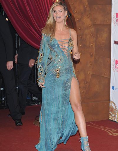 Хайди Клум (Heidi Klum) на MTV EMA 2012