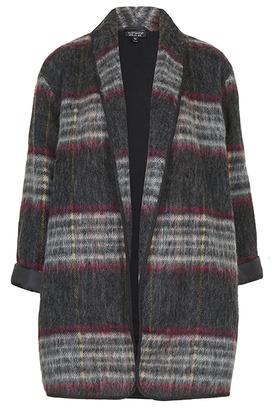 Пальто с воротником «шалька»