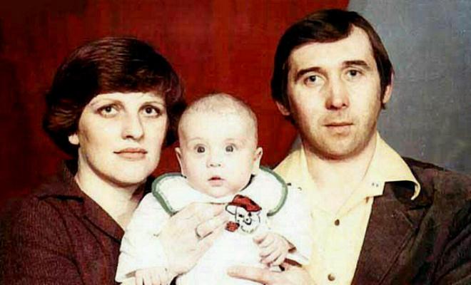 Александр Кержаков, родители
