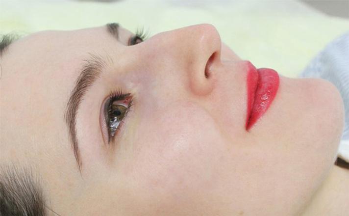 перманентный макияж, брови фото, татуаж бровей