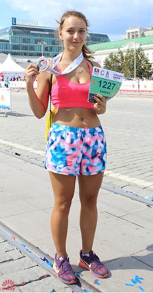"""Ксения Благинина, марафон """"Европа-Азия 2016"""", фото"""