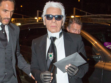 Карл Лагерфельд (Karl Lagerfeld) беспокоится о некрасивых людях