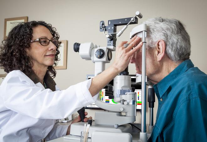 укрепление сетчатки глаза