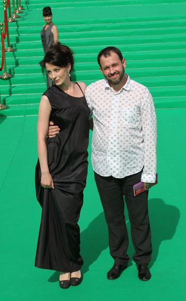 Евгения Крюкова с супругом