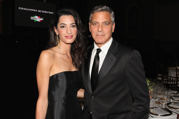 Жена Джорджа Клуни