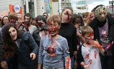 Рассвет мертвецов: полчища зомби проковыляли через Екатеринбург