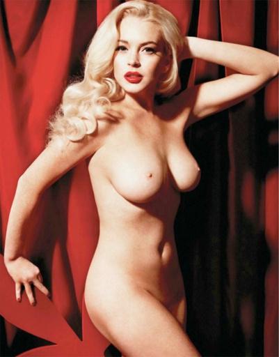Линдсей Лохан разделась для Playboy