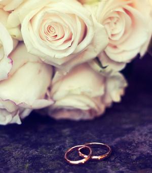 Обручальное кольцо на какой