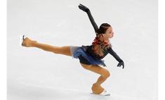 Ликуй, Россия! Наша Анна Щербакова— первая после короткой программы на этапе Гран-при в Китае