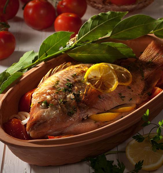 Рыба с пряными травами рецепт