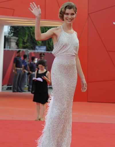 Виктория Пуччини (Victoria Puccini) на открытии 68-го Венецианского кинофестиваля