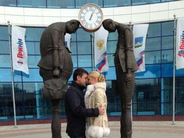 Анастасия Волочкова и ее возлюбленный Бахтияр Салимов