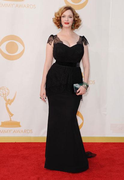 Кристина Хендрикс на Emmy-2013