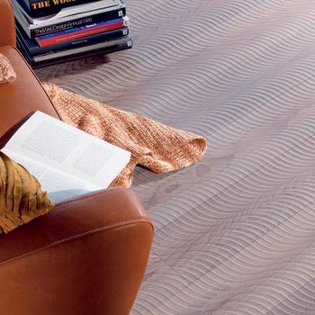Паркетная доска с рельефом Duno, бук, коллекция Fresco, Dunkel Vulcano, компания Veranda 7.
