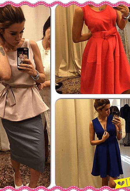 Ксения Бородина: платья, фото